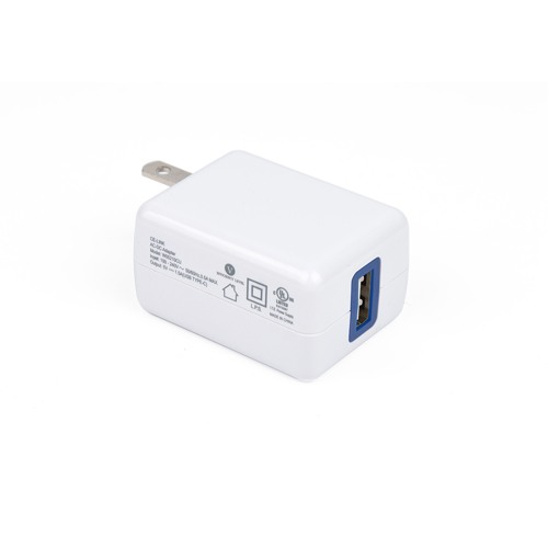 Smart Travel Charger with USB 5V/2.1A Output(USB-C)