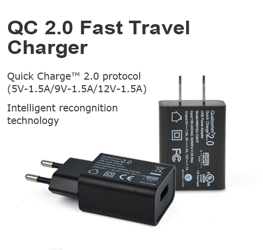 QC 2.0/3.0 Fast Travel Charger