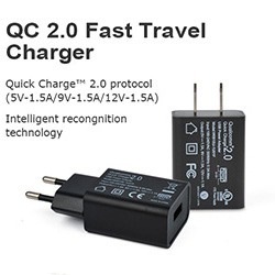 QC 2.0/3.0Travel Charger
