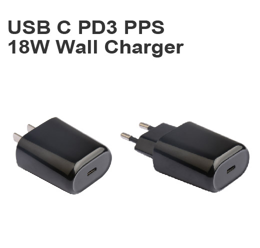 USB C PD3 PPS 18W Wall Charger